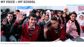 Foto de Alumnos de Siria y de Sevilla conectarán a través de videoconferencia para compartir sus vivencias