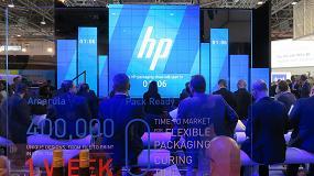 Foto de HP presenta las capacidades de impresión de la HP PageWide C500 para la producción de embalaje corrugado convencional