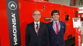 Foto de Entrevista a Francisco Inglés, sales regional manager de Himoinsa para Europa, y a Juan Ignacio Perona, adjunto a Dirección en Himoinsa España