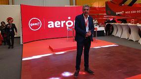 Foto de Entrevista a Jorge Arias, responsable técnico de producto en Aeron by GAM, a Marcelino Artime, responsable comercial de producto en Aerón by GAM, y a José Antonio Aguado, product manager de Energía en GAM