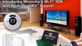 Foto de Kit de desarrollo de software Wifi de Microchip ahora compatible con Apple HomeKit