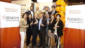 Foto de Genesys presenta su nueva imagen corporativa