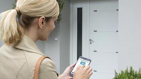 Foto de La cerradura conectada de Somfy permite controlar y administrar fácilmente el acceso al hogar