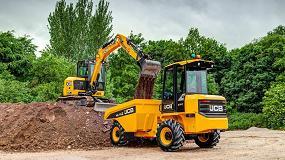 Foto de JCB revela nuevos planes de producción centrados en la seguridad de los dúmperes de obra