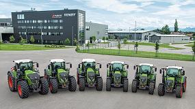 Foto de Fendt ya descubrió algunas de las novedades que presentará en Agritechnica