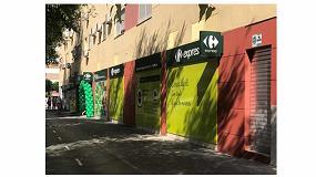 Foto de Inerzia a Carrefour Express en el alquiler de un nuevo local en Carretera de Carmona