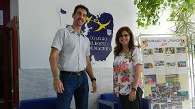 Foto de Entrevista Emma Pérez y Jorge Calvo, directora y responsable de TI del Colegio Europeo de Madrid, CEM
