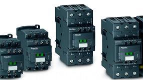 Foto de RS Components presenta la serie de contactores Schneider con un menor consumo de energía en aplicaciones de control