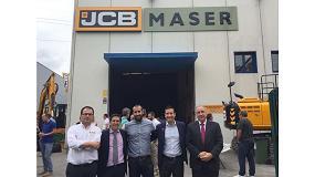 Foto de Maser, nuevo distribuidor de JCB en el País Vasco y Cantabria, inaugura sus instalaciones en Amorebieta