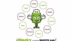 Foto de Grupo BdB estrena nueva mascota: 'Blocky'