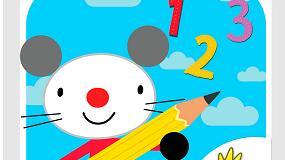 Foto de 'Arty Mouse, Números', una creativa app para aprender los números y estimular la pre-escritura