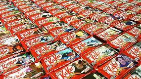 Foto de Kit Kat personaliza sus chocolatinas con la impresión digital de HP