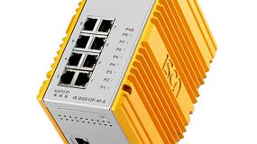 Foto de Switches gestionables PoE Layer 2/4 de doce puertos para aplicaciones industriales