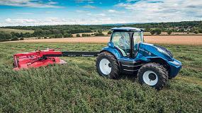 Foto de New Holland presenta en el Farm Progress Show un nuevo prototipo de su tractor a metano
