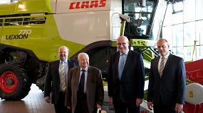 Foto de Phil Hogan, comisario europeo de Agricultura y Desarrollo Rural, visita Claas