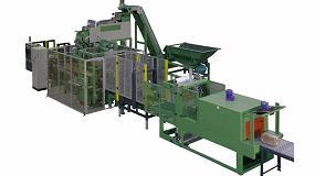 Foto de Euromaher presenta innovadores sistemas automáticos de empaquetado y paletizado