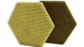 Picture of Nueva generación de fibras de doble cara hexagonal para limpieza