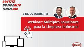 Picture of Henkel organiza el webinar gratuito 'Múltiples Soluciones para la Limpieza Industrial'