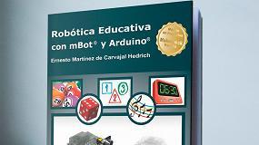 Foto de Nuevo libro de robótica educativa con mBot y Arduino