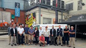 Foto de La Plataforma de la Construcción ayuda a sus clientes a mejorar en su negocio regalando 4 furgonetas Mercedes Vito
