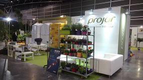 Foto de Projar destaca en Iberflora sus 35 años como proveedor de tecnología para el sector de producción de planta y jardinería