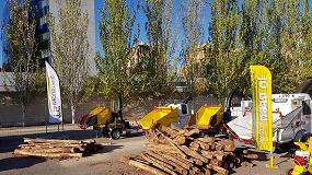 Foto de Éxito de las trituradoras Ilaga en Expobiomasa