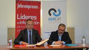 Foto de La asociación de decoletadores de Catalunya firma un acuerdo de colaboración con Interempresas