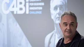 Foto de Ferran Adrià y la tecnología de impresión de gran formato HP Latex