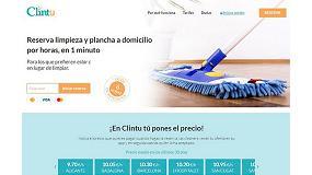 Picture of La plataforma online de servicios de limpieza a domicilio Clintu triplica su crecimiento en lo que llevamos de año