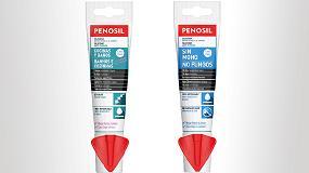 Foto de Penosil presenta un nuevo formato flexible para sus tubos de silicona