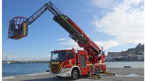 Foto de Scania entra a formar parte de la flota del parque de bomberos de Ibiza