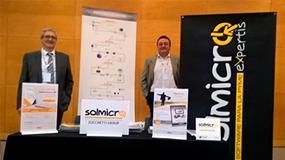 Foto de Solmicro muestra sus soluciones para una gestión innovadora de la empresa en el ERP & CRM Day