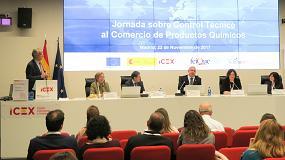 Foto de Feique e Icex-Invest in Spain organizan la Jornada de Control Técnico al Comercio de Productos Químicos