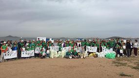 Foto de Cartagena acoge el Voluntariado Verde de Cicloplast en el entorno natural Mar de Cristal-Punta las Lomas