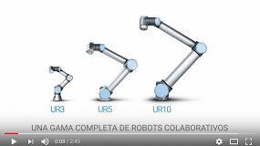 Foto de Universal Robots muestra la flexibilidad y versatilidad de sus robots en MetalMadrid 2017