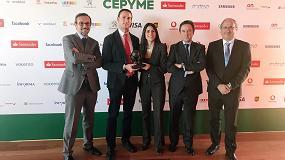 Foto de ASTI recibe el premio Cepyme a la Creación de Empleo 2017