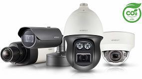 Foto de Las cámaras Wisenet X de Hanwha han sido galardonadas con la certificación de Huella de Carbono en el Reino Unido