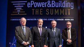 Foto de ePower&Building The Summit 2017 debate los cambios en el sector de la construcción