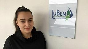 Foto de Marina Benito, responsable de Estrategias y Operaciones Blockchain de Juben Asesores Sector Energético