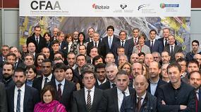 Foto de Entrevista a Alfredo López Díez, Head de ingeniería avanzada de ITP AERO y gerente de la agrupación del CFAA, y Norberto López de Lacalle, profesor y director del CFAA