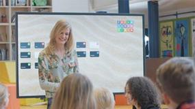 Foto de Un 15% de aulas españolas todavía sin pizarra digital o display interactivo multitáctil