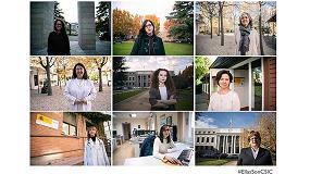 Foto de #EllasSonCSIC visibiliza el papel de la mujer en la ciencia