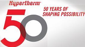 Foto de Hypertherm celebra 50 años de innovaciones en el corte industrial