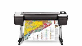 """Foto de HP lanza las impresoras de gran formato para grupos de trabajo CAD y SIG """"más seguras del mundo"""""""