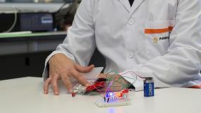 Foto de Aiju y Aimplas introducen la electrónica flexible en los juguetes en forma de sensores