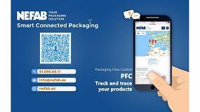 Foto de Nefab optimiza la cadena logística mediante sus embalajes inteligentes conectados