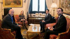 Foto de Asebio presenta el sector biotecnológico a la Presidenta del Congreso de los Diputados