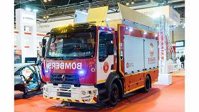 Foto de Alta presencia de Renault Trucks en Sicur con su gama vehículos de emergencias