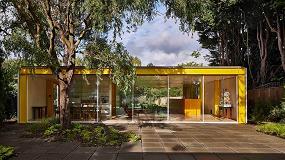 Foto de Hi-Macs, presente en la emblemática Casa Richard Rogers en Wimbledon