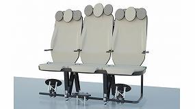 Foto de Leitat desarrolla un nuevo asiento de avión: ligero, rentable, saludable y reciclable